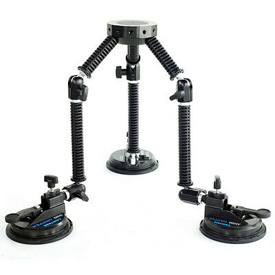 Camtree Gripper G-51 Campod Suction cup Car Camera Mount Hub + Carry Bag