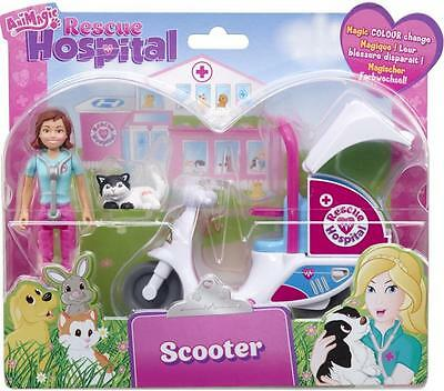 Animagic 60138 Rescue Hospital Scooter Childrens Imagination Playset Accessory