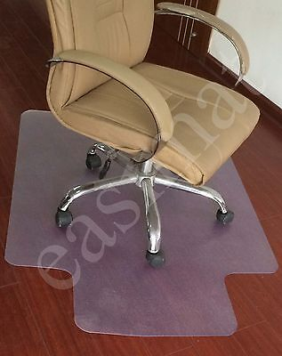Clear PVC Floor Carpet Protector Chair Mat Office Home 910mm x 1220mm Easimat