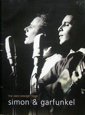 Simon & Garfunkel - The 2003 Old Friends Concert Tour Program