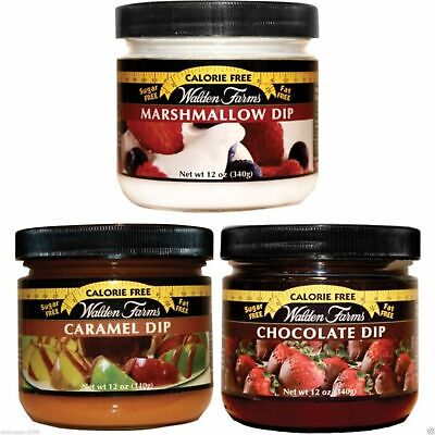 WALDEN FARMS LOW CALORIE DIP 340g DAIRY FREE CARB FREE - FAT FREE - ALL FLAVOURS