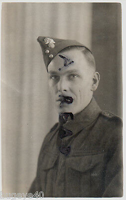 WW2 soldier Royal Fusiliers Dated Jan 1941