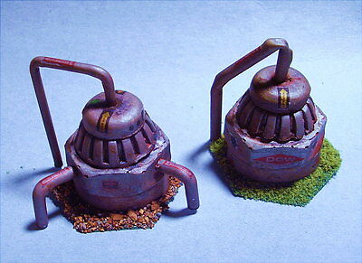 Battletech painted Pumping Stations (1 random of those pictured)