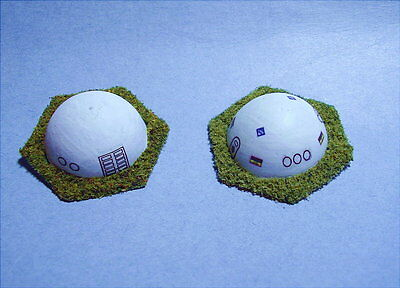 Battletech painted Small white Housing Dome (1 random of those pictured)