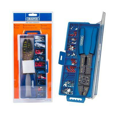 Draper Electricians Crimping Tool Electrical Cable Terminal Crimper Tool Kit Set