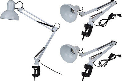 LOT 3~Adjustable Swing Arm Drafting Design Clamp Home Table Lamp Light Wholesale