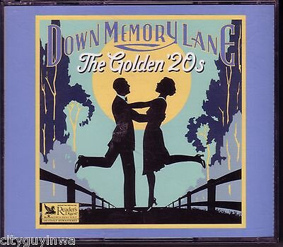 READER'S DIGEST Down Memory Lane GOLDEN 20s Various Arists 4CD w/Booklet RARE