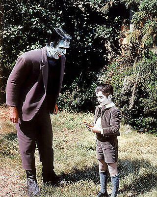 Butch Patrick Fred Gwynne The Munsters color 8x10 Photo #01