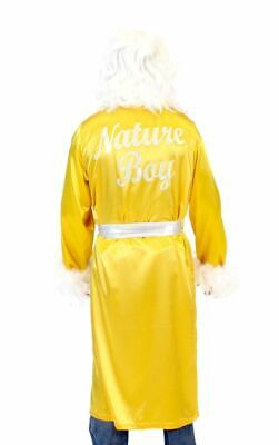 Choose Color Adult Wrestling Wrestler Ric Flair Nature Boy Costume Robe and Wig