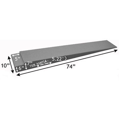"Race Ramps BT-TT-7-10 Tow Truck Flatbed Extension Ramps 74"" Long 10"" Wide"