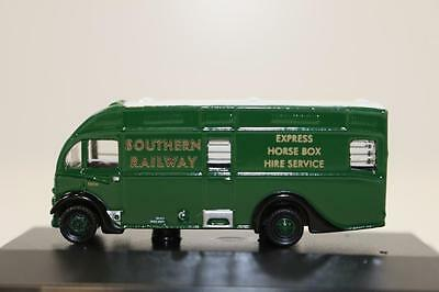 N scale 1:148 Oxford UK vehicle NAH004 Southern Railways Albion Horsebox (OX280)