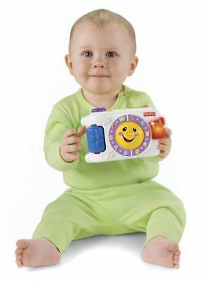 Fisher Price Laugh And Learn Light Up Musical Camera Baby Kids Educational Toy