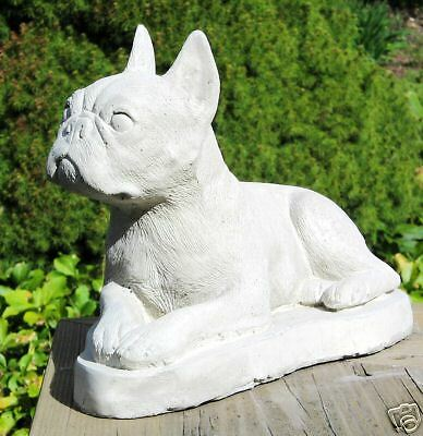 Concrete Boston Terrier Dog Statue, Monument