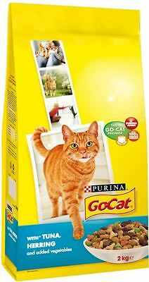 Go-Cat Complete Adult with Tuna, Herring & Vegetables (2Kg)