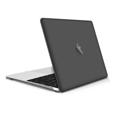 "kwmobile CRYSTAL HARD CASE FÜR APPLE MACBOOK 12"" SCHWARZ COVER SCHUTZ HÜLLE"