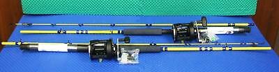 """Eagle Claw Rod Sf400 - 7 ' 6 """" With Okuma Reel Cl 452L Combo   2 Pack"""