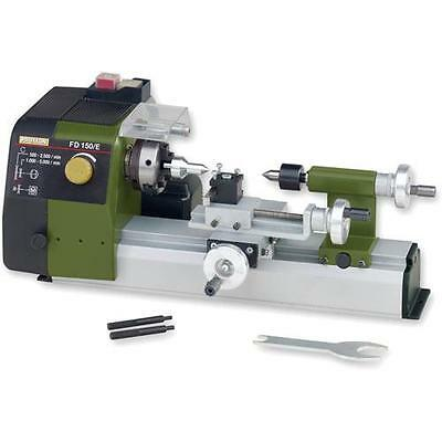 Proxxon FD 150/E Compact Precision Metal Working Hobby Lathe + 2 Year Warranty