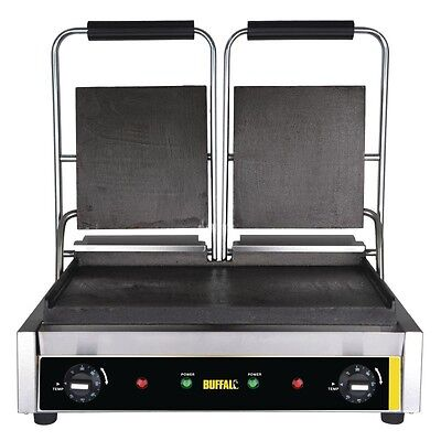 Buffalo Bistro Contact Grill Double Flat upper & lower - GJ456