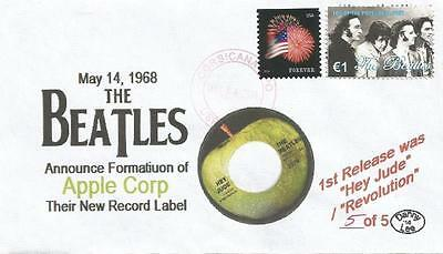 VERY LAST May 14, 1968 The Beatles Announce Apple Corp Record Label #5of5 Cover