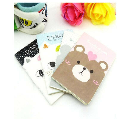 Cute  Diary School Notebook Scheduler Korea Stationary Soft Cover J