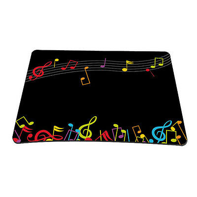 Music Note Anti-slip MousePad Gaming Mice Mat For Optical Wireless Laser Mouse