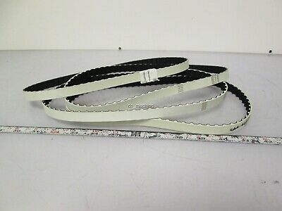 """Lot of 4 New FH 9 Timing Belt 9mm Pitch Trapezoid 2mm Thick Belt 24"""" LnIn"""