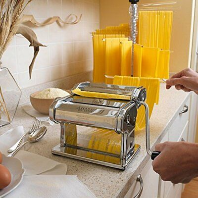 NEW Marcato Atlas Wellness 150 Pasta Maker Stainless Steel FREE SHIPPING