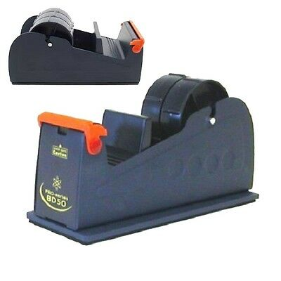 Brand New Heavyweight (50mm)Packing Tape Desktop Bench Dispenser Dark Blue d743