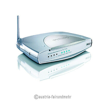"""""""PHILIPS WLAN-Router SNB 6500 True Turbo WPA 2 108Mbits"""
