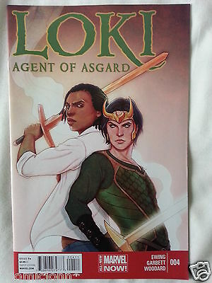 Loki Agent Of Asgard Issue # 4.  Marvel Now. July 2014