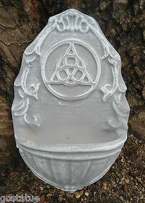 MOLD Poly plastic triquetra fountain/ water dish / bird feeder mold