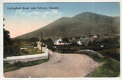 irish postcard ireland louth omeath