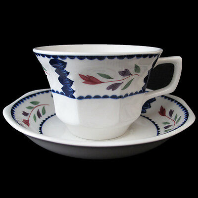 Adams Lancaster Cup And Saucer Ironstone Made In England Adalan