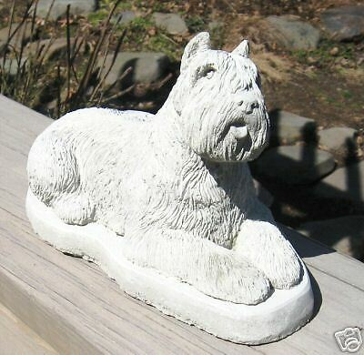 Concrete Bouvier Dog Statue Or Use As A Monument