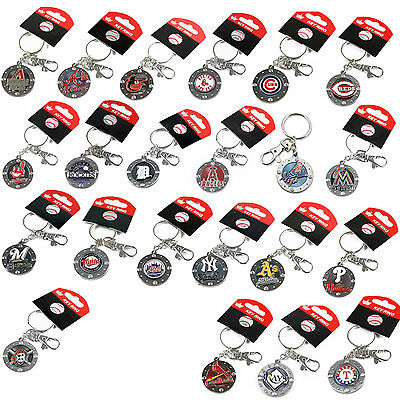 impact keychain key ring clip MLB PICK YOUR TEAM