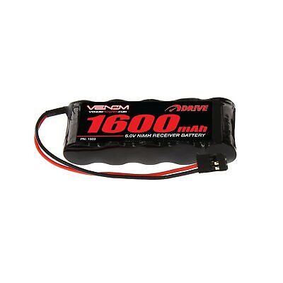 Venom 6V 1600mAh 5 Cell Flat Receiver Pack RC NiMH Battery RC Boat Truck Buggy