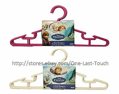 DELTA CHILDREN'S 4pc Set DISNEY FROZEN Kid Hangers CLOTHING New! *YOU CHOOSE*