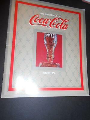 The Chronicle of Coca-Cola Since 1886 23 Page Booklet W/ Illustrations
