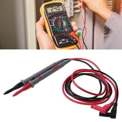 1Pair Digital Multimeter Multi Meter Test Lead Probe Wire Pen Cable Universal