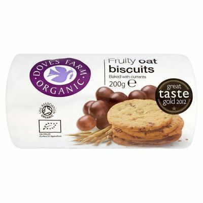 Doves Farm Organic Fruity Oat Biscuits (200g)