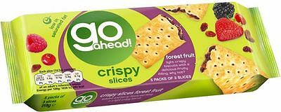 McVitie's Go Ahead! Crispy Slices - Forest Fruit (5 per pack - 215g)