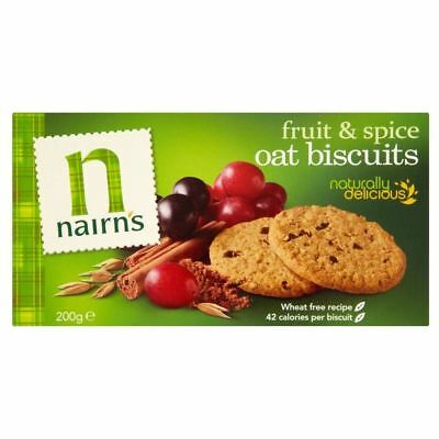 Nairn's Fruit & Spice Oat Biscuits (200g)