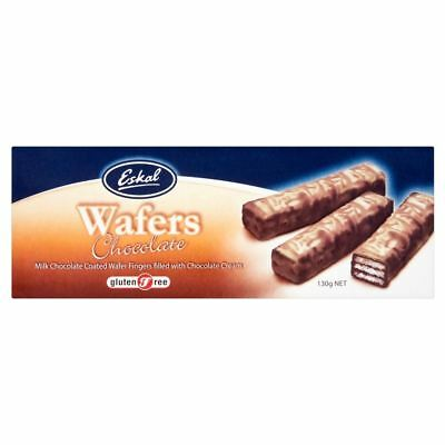 Eskal Gluten Free Chocolate Covered Wafers (130g)