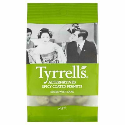 Tyrrells Alternatives Spicy Coated Peanuts (50g)
