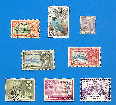 Trinidad And Tobago.a Small Selection Of Stamps