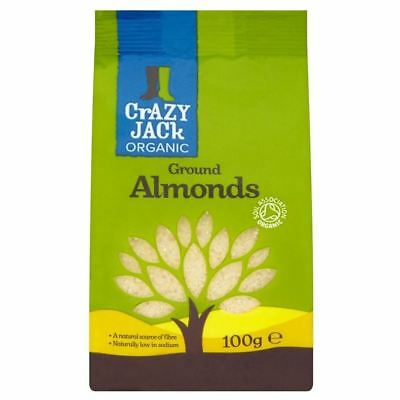 Crazy Jack Organic Ground Almonds (100g)