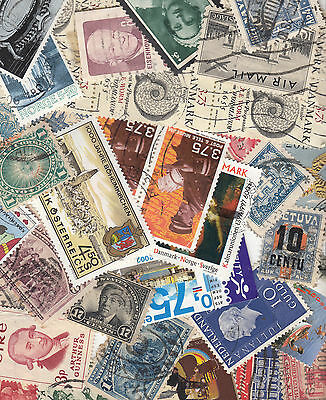 200 World Stamps ALL Different (30)Lots Available SCAN IS A SAMPLE OF VARIETY