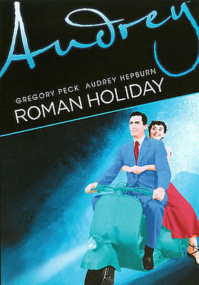 Roman Holiday - Gregory Peck Audrey Hepburn (DVD, 2011) FS B&W 1953  SEALED
