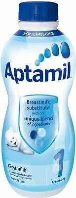 Aptamil First Infant Milk Ready Made from Birth Onwards Stage 1 (1L)