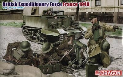 Dragon 6552 - British Expeditionary Force. 1:35 Plastic Figures-Wargaming
